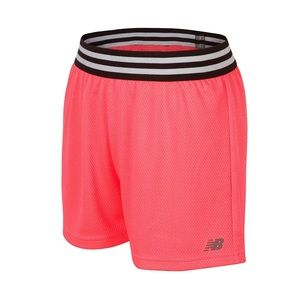 Youth Girls Shorts New Balance Active Workout NEW